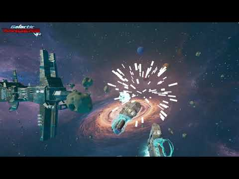 Gameplay and Intro to Galactic Rangers VR |