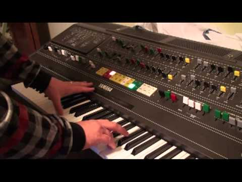 Yamaha CS-80 and Lexicon 224XL Sound Sampler 2 - Slave to the Bass..