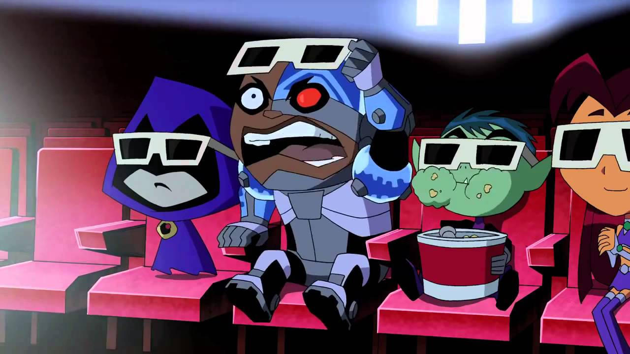 Teen Titans Shorts 0 3D Movies Teaser - Youtube-7628