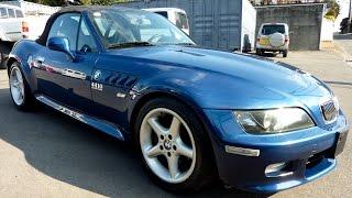 Walk Around & Test Drive - 2000 BMW Z3 2 0L Motorsport Edition - Japanese Car Auction