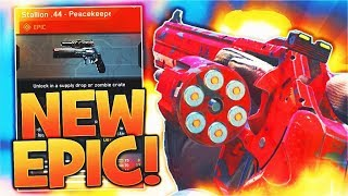 "NEW EPIC PISTOL is INSANE! Infinite Warfare NEW ""EPIC STALLION .44 - PEACEKEEPER"" Weapon Gameplay!"