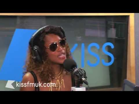 Eve interview & freestyle with Shortee Blitz and MK - Kiss FM (UK)
