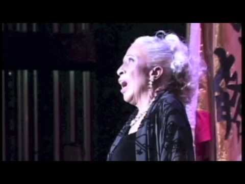 Barbara Smith Conrad performs to honor Dr. John Hope Franklin