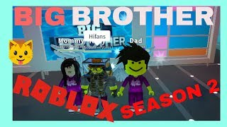 BIG BROTHER - SEASON 2 - ROBLOX LIVE STREAM