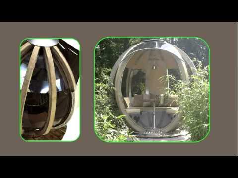 Rotating Garden Sphere From Leisure Shelters Uk Ltd Call 01480