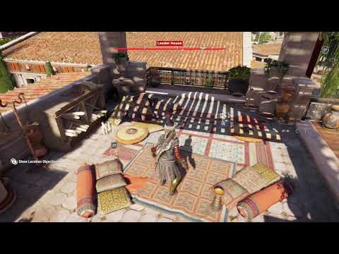 Ainigmata Ostraka Leader House Assassins Creed Argos Location Guide