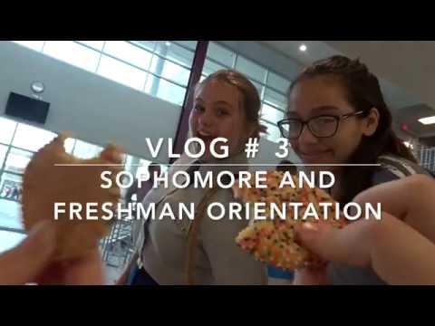 VLOG #3: Sophomore/Freshman Orientation Volunteer Event