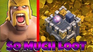 "NO WAY!!! i Found the JACK POT!! ""Clash Of Clans"" Loot for days!!"