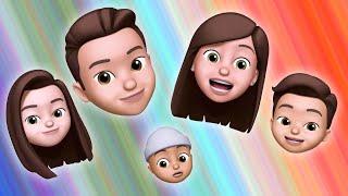 La Canción de la Familia Dedo con Animojis! | Las Mejores Canciones para niños y Familia en Español