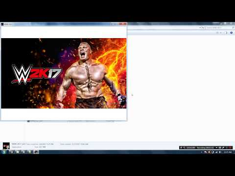 How To Install and crack WWE 2k17 Game Without Errors