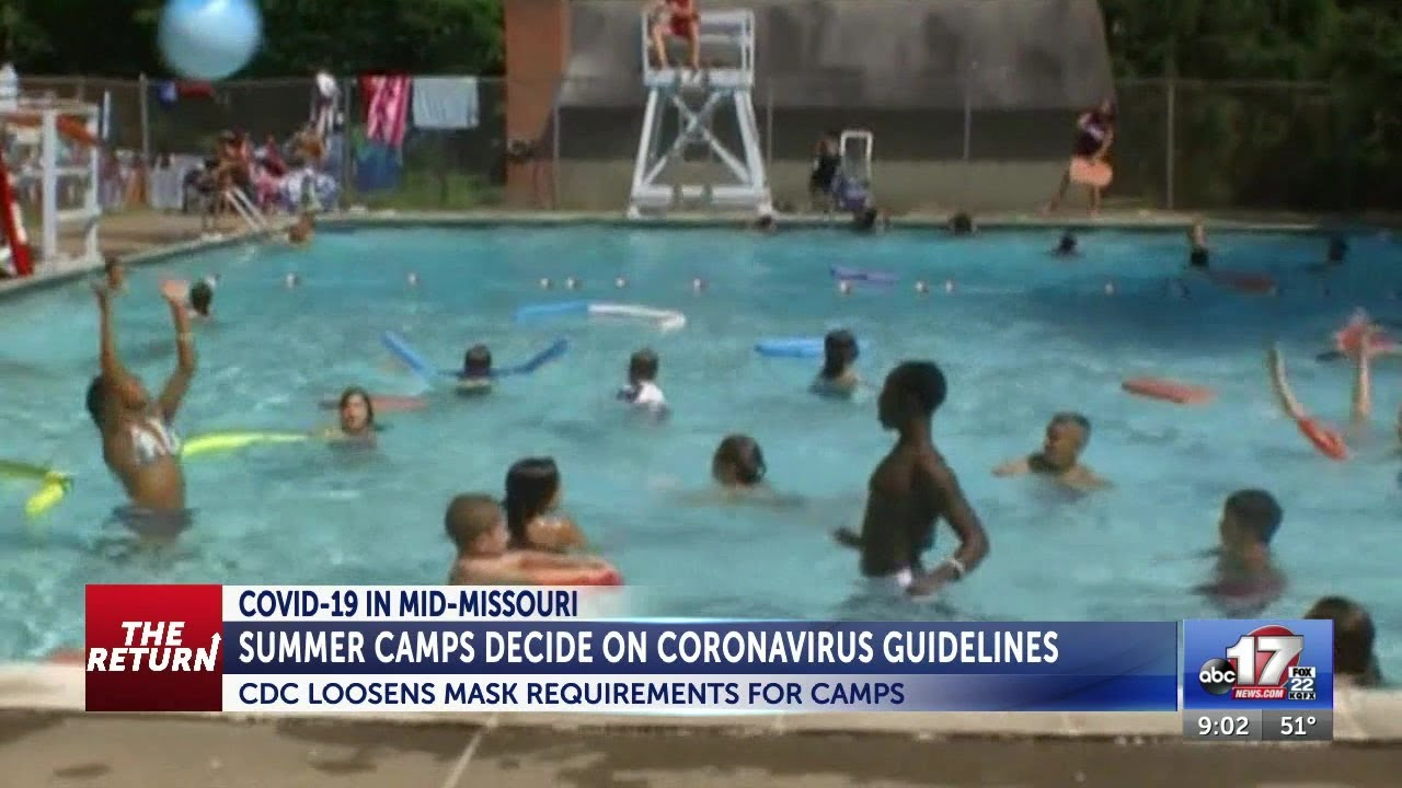 Covid News: C.D.C. Loosens Mask Guidance for Most Outdoor Activities at Summer Camps