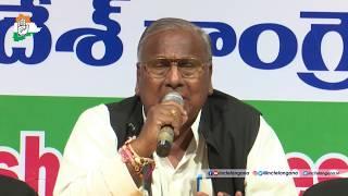 LIVE: TPCC Press Conference by Shri V. Hanumantha Rao at Gandhi Bhavan