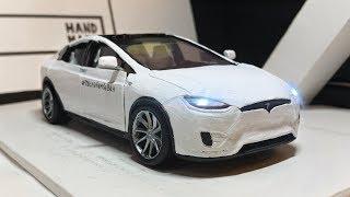 TESLA ВАРПАТЧА из ПЛАСТИЛИНА Tesla model x p100d