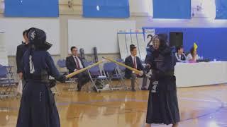 2018 Yuhihai College Kendo Tournament: Full Teams, Match 2