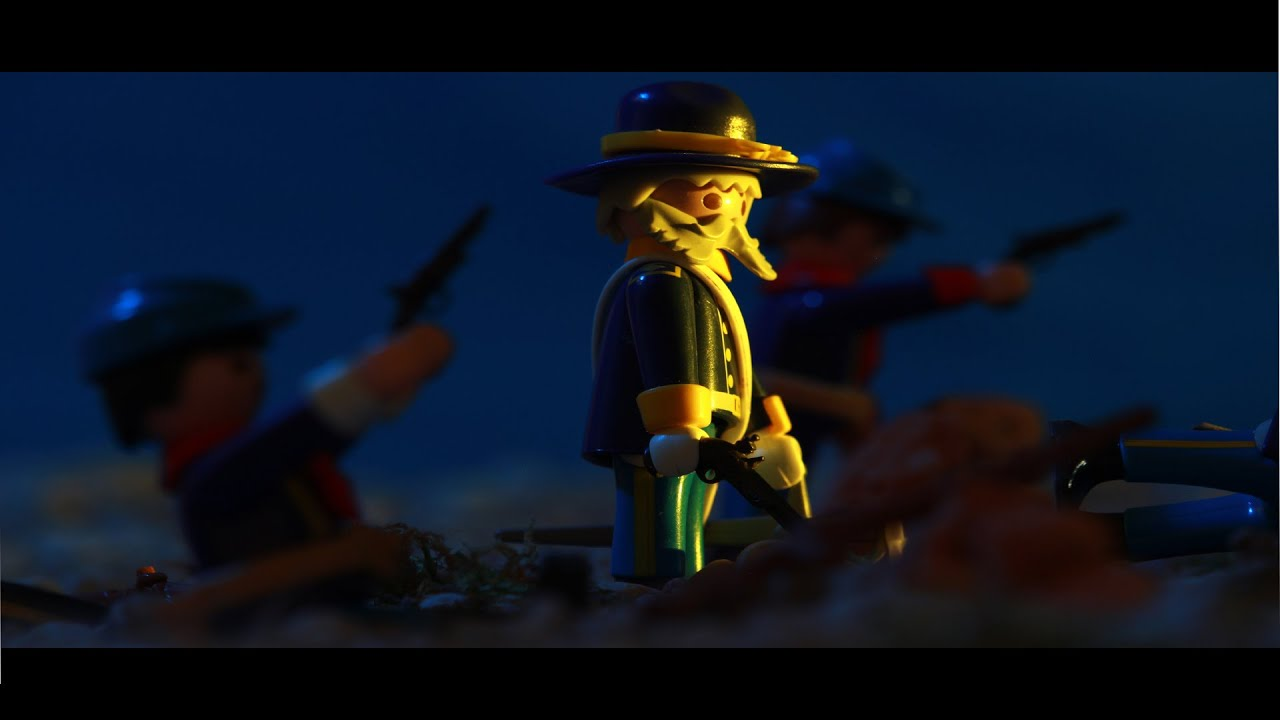 PLAYMOBIL WESTERN: FORT BRAVE stop-motion - YouTube