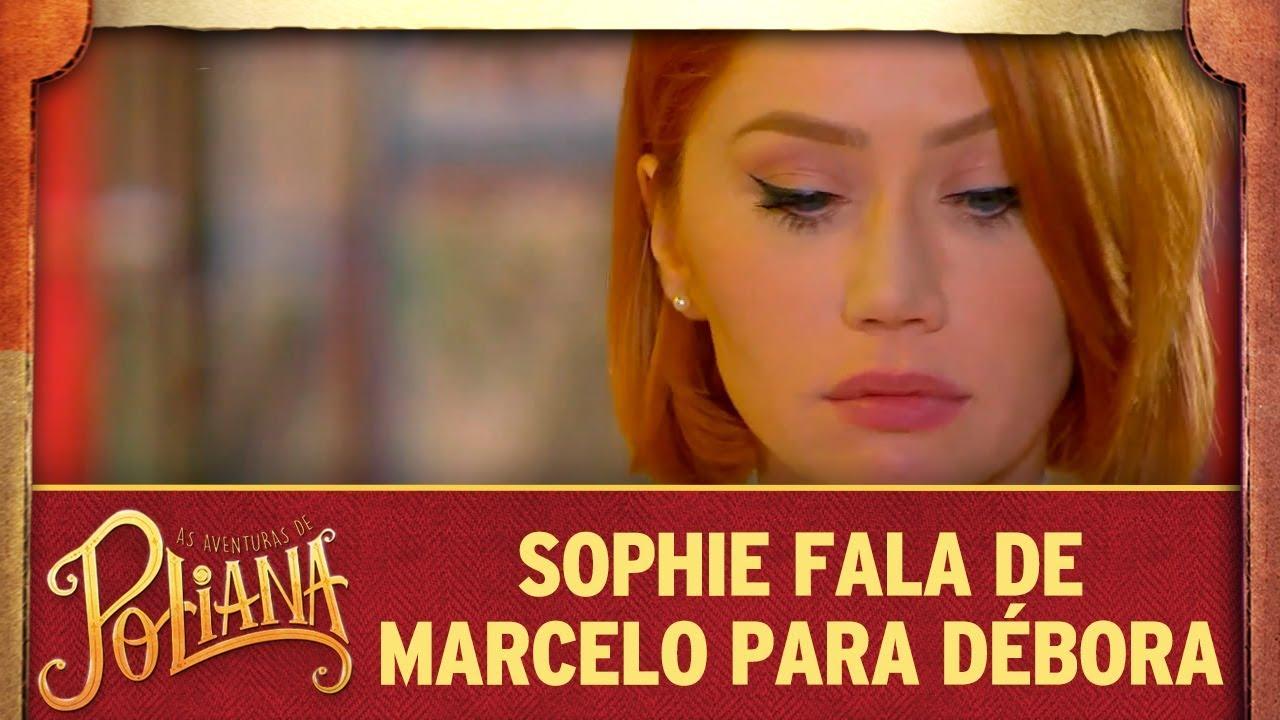 Sophie fala sobre Marcelo com Débora   As Aventuras de Poliana