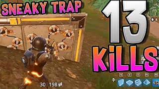 Epic Traps - 13 kills -  Fortnite Battle Royale
