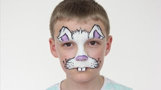 Repeat youtube video Easter Bunny Face Paint Tutorial | Halloween | Rabbit Face Paint For Kids | Shonagh Scott
