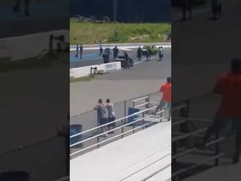 Santiago racing por poco