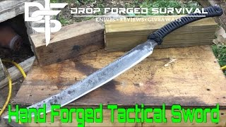 Hand Forged Tactical Sword - Stonehaven Knife Works - Forged in Fire