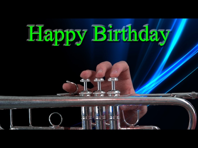 How To Play Happy Birthday On Trumpet Youtube
