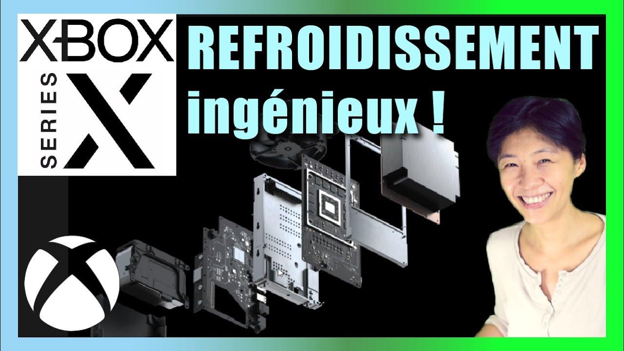 La Xbox Series X, le design à l'intérieur avec un système de refroidissement ingénieux et silencieux