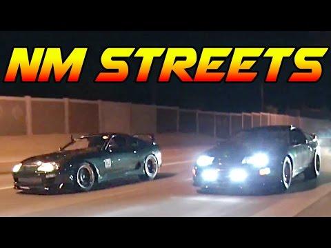 New Mexico STREET RACING!
