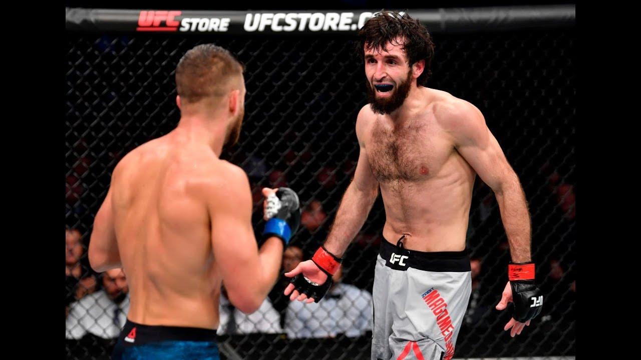 Хайлайты UFC Moscow