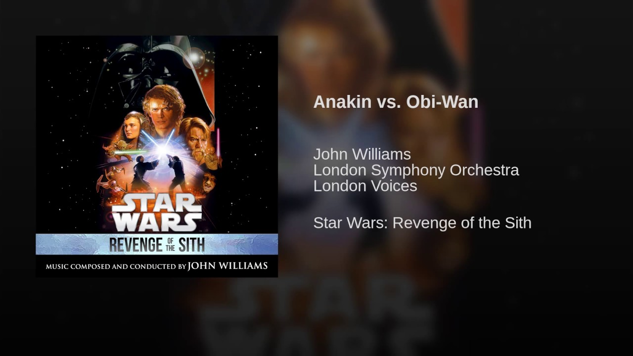 Friday Music Post 88 Anakin Vs Obi Wan Star Wars Episode 3 Ost By Serathdarklands Meme Center
