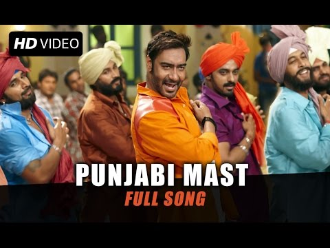 Punjabi Mast (Uncut Video Song) | Action Jackson |...