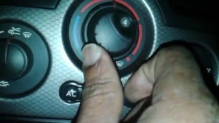 How to fix fan blower selector in Renault megane 2 Part 1