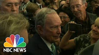 Bloomberg Under Fire For Alleged Past Remarks About Women In The Workplace   NBC Nightly News