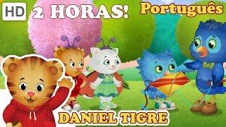 Daniel Tigre em Português - Nova Compilação de Episódios de 2 Horas (HD - Episódios Completos)