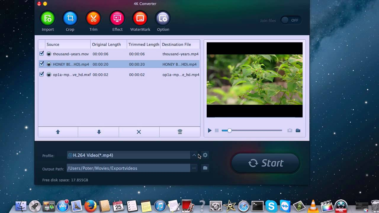 How to play 4K MXF video with QuickTime player 7 on Mac?
