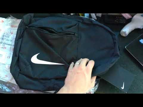 Shipley pizarra Cerebro  UNBOXING e Primeiras Impressões - Mochila Nike Brasilia Academy Team 22  Litros - YouTube