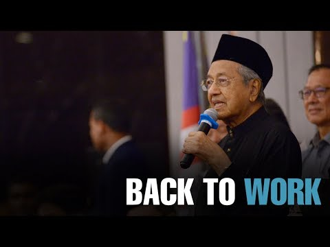 NEWS: Malaysia's new government gets back to work
