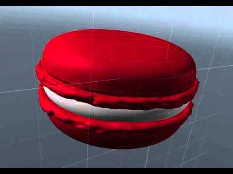 Macaron 3d Model From Youtube