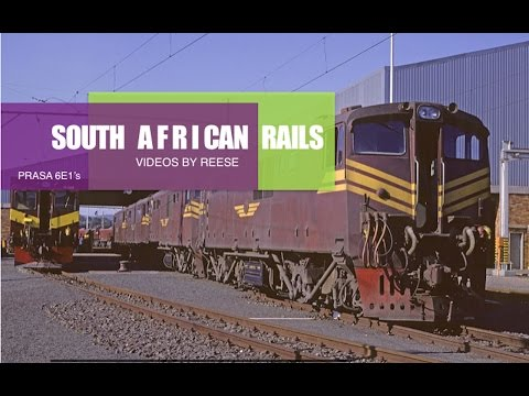 Last of the South African class 6E1's Part Two