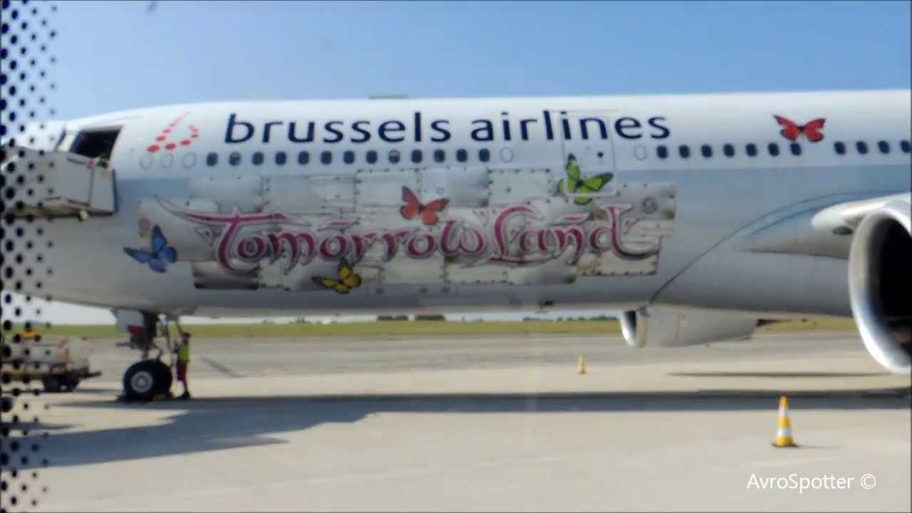 Brussels Airlines A330 Special Tomorrowland Youtube