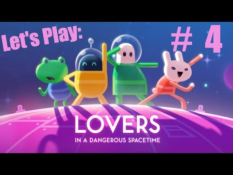Lovers In A Dangerous Spacetime #4 Super Extra Gravity - Let's Play