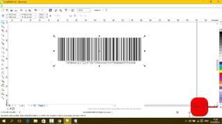 Как да си направим баркод с CorelDRAW X6