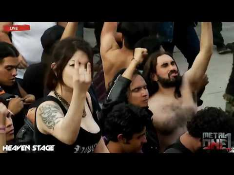 Amon Amarth Guardians of Asgaard (Mejor Audio) Hell and Heaven México 2016