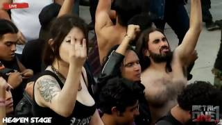 Скачать Amon Amarth Guardians Of Asgaard Mejor Audio Hell And Heaven México 2016