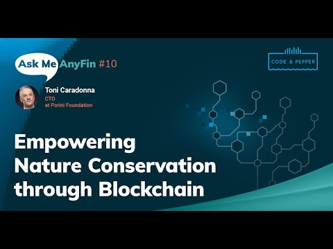 Empowering Nature Conservation through Blockchain: Ask Me AnyFin #10 with Toni Caradonna