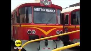 Presentan seis nuevos autovagones del Tren de Huancayo