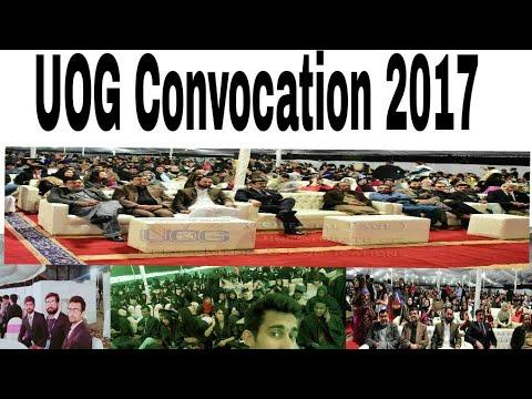 University of Gujrat Pakistan Convocation 2017