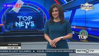 Astaga cantik nya Mbak Fitri Megantara Top News Metro Tv 02 Juli 2017