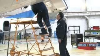 видео Новый Superjet 100 пополнил парк самолётов авиакомпании «Якутия»