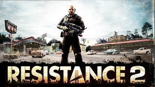 Resistance 2 All Cutscenes (Game Movie) Full Story PS3 HD