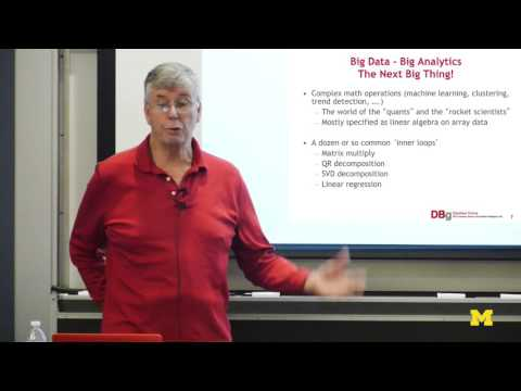 Michael Stonebraker   Big Data is (at least) Four Different Problems
